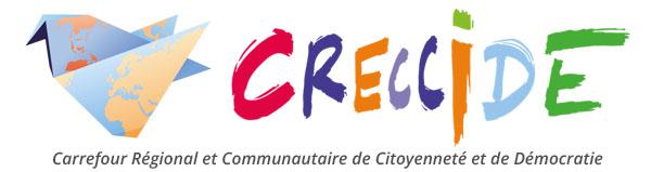 Creccide asbl Carrefour Régional et Communautaire de Citoyenneté et de Démocratie Logo